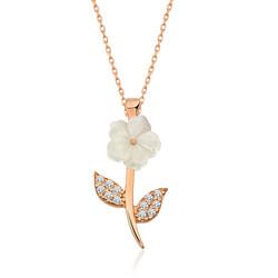 Gumush - Gümüş Bahar Çiçeği Bayan Kolye