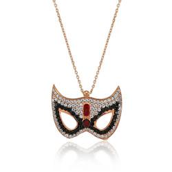 Gumush - Gümüş Maske Bayan Kolye