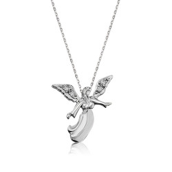Gumush - Gümüş Melek Bayan Kolye