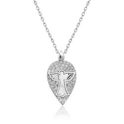 Gumush - Gümüş Melek Damla Bayan Kolye