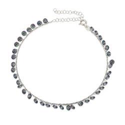 Gumush - Gümüş Mistik Topaz Halhal