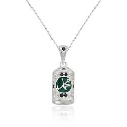 Gumush - Gümüş Muhammed Yazılı Cevşen Bayan Kolye