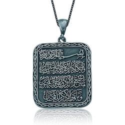 Gumush - Gümüş Nazar Duası Kolye