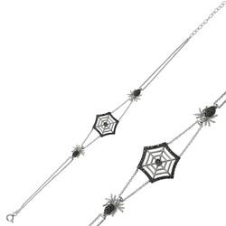 Gumush - Gümüş Örümcek Ağı Bayan Bileklik