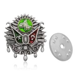 Gumush - Gümüş Osmanlı Arması Rozet