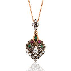 Gumush - Gümüş Otantik Bayan Kolye