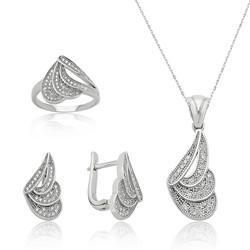 Gumush - Gümüş Peri Kanadı Bayan Set