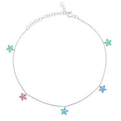 Gumush - Gümüş Renkli Yıldız Halhal