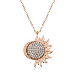 Gumush - Gümüş Rose Mihrimah Sultan Bayan Kolye