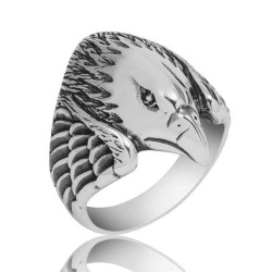 Gumush - Gümüş Kartal Erkek Yüzük