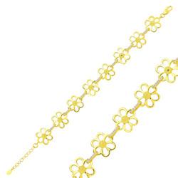 Gumush - Gümüş Sarı Papatya Bayan Bileklik