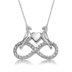 Gumush - Gümüş Sonsuz Aşk Bayan Kolye