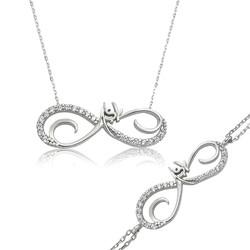 Gumush - Gümüş Sonsuzluk Aşk Bayan Set