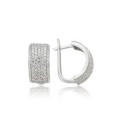 Gumush - Gümüş Tamtur Küpe