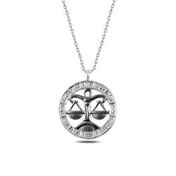 Gumush - Gümüş Terazi Burcu Kolye