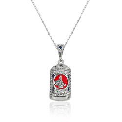Gumush - Gümüş Tuğra Cevşen Bayan Kolye