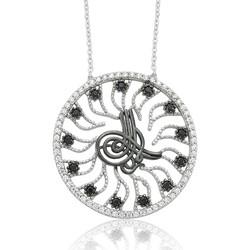 Gumush - Gümüş Tuğra Bayan Kolye