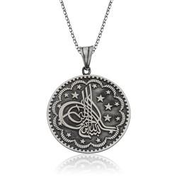 Gumush - Gümüş Tuğra Kolye