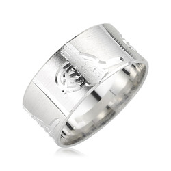 Gumush - Gümüş Tuğralı Alyans