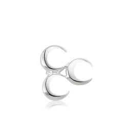 Gumush - Gümüş Üç Hilal Rozet