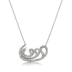 Gumush - Gümüş 3 Vav Bayan Kolye