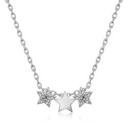 Gumush - Gümüş Üç Yıldız Kolye