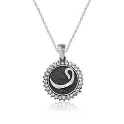 Gumush - Gümüş Vav Harfi Bayan Kolye