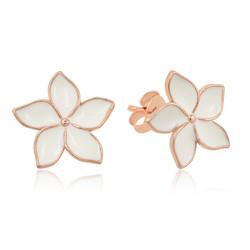 Gumush - Gümüş Yasemin Çiçeği Çivili Küpe