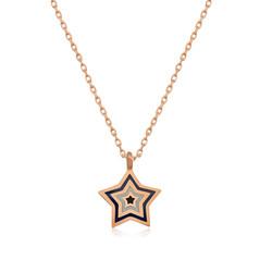 Gumush - Gümüş Yıldız Bayan Kolye