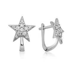 Gumush - Gümüş Yıldız Küpe