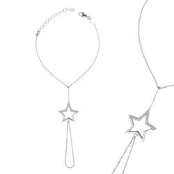 Gumush - Gümüş Yıldız Şahmeran Bileklik