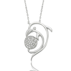 Gumush - Gümüş Yunus Bayan Kolye