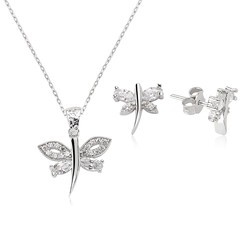 Gumush - Gümüş Yusufçuk Bayan Set
