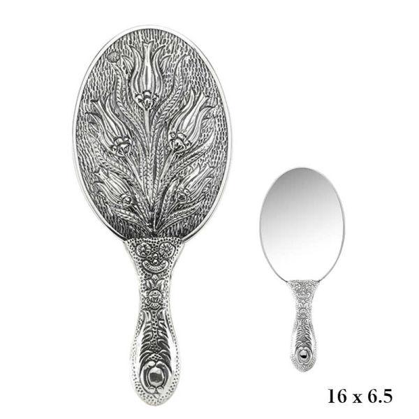 Lale Motifli El Aynası
