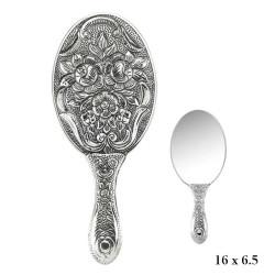 Gumush - Manolya Motifli El Aynası