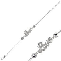 Gumush - Gümüş Love Bayan Bileklik