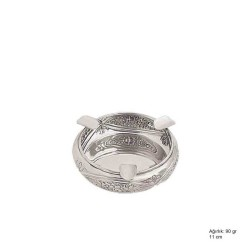 Gumush - Papatya Motifli Gümüş Küllük