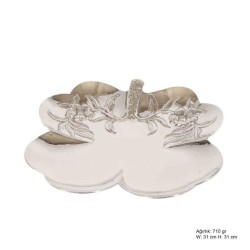 Gumush - Papatya Motifli Gümüş Tabak