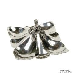 Gumush - Sincap Desenli Gümüş Çerezlik