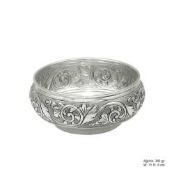 Gumush - Yaprak Desenli Gümüş Şekerlik