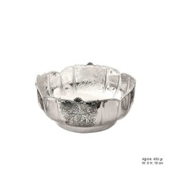 Gumush - Yaprak Motifli Gümüş Şekerlik