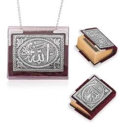 Gumush - Zincirli Gümüş Küçük Kur'anı-ı Kerim